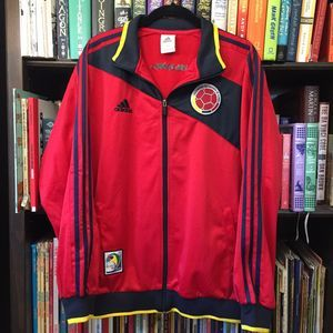 Adidas Colombia 2014 World Cup Track Jacket XL
